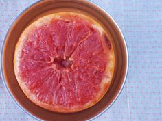 Roasted ruby red grapefruits.  I've been hearing about this everywhere lately and can't wait to try it!