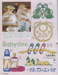 Gallery.ru / Фото #37 - SUSANNA SOLOALBUM 2002-11 + Архив - Mosca Cross Stitch Needles, Cross Stitch Baby, Cross Stitch Charts, Cross Stitch Designs, Cross Stitch Patterns, Cross Stitching, Cross Stitch Embroidery, Baby Patterns, Crafts
