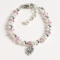 Flower Girl bracelet from Kate Austin jewelry...such a great gift idea.