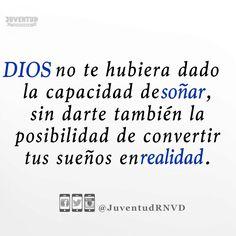 #Dios cumplirá su propósito en ti ...   Sigue a @JuventudRNVD en todas las redes sociales