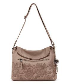 1d49dbbcb670 Mocha Floral Esperato Leather Hobo  zulilyfinds The Sak Handbags