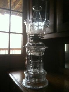 Applesauce Lamp- Adams Temple Oil Lamp