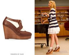LOOK FOR LESS: Quinn's Rag & Bone brogue wedges were her absolute favorite shoes during Seasons 2 and 3, to say nothing of how muc...