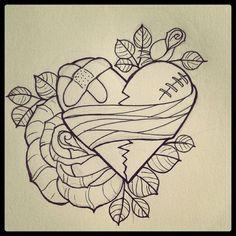 Heart tattoo IG: TheHeartShow         SC: Beauty_Jasmine  Pintrest:HeartBreaker94