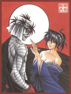 Shishio & Yumi - Rurouni Kenshin