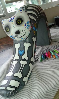 Proyect Sharpie Cat Mexican .
