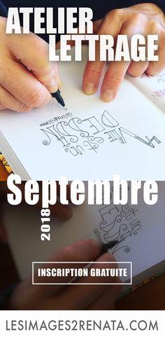 5 Astuces pour dessiner des lettres - 21 jours d'Atelier Lettrage