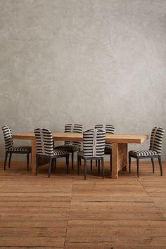 grassland striped dining chair | tracey boyd