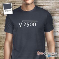 50th Birthday, 1965 Birthday, 50th Birthday Idea, Great 50th Birthday Present, 50th Birthday Gift. 50th Birthday Shirt For an 50 Year Old!
