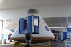 Orion Spacecraft is 3D Scanned & 3D Printed