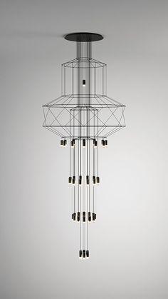 Take a look at this unique lighting design and get inspired | www.delightfull.eu #uniquelamps #lightingdesign #homeinteriordesigntrends #midcenturylighting