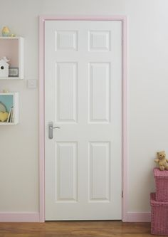 Pick an accent colour to paint your door frame and skirting. Against a neutral wall colour it will really stand out. For more inspiration, check out our other Pinterest boards or view our full range on diy.com/colours