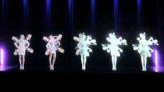 Desfile de moda holográfica Stefan Eckert