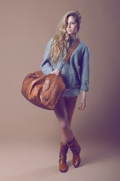 Cork and Denim Weekender Bag/ Unisex Duffle Bag/ Large Travel Bag ...