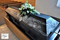 Coffin for loving Mother