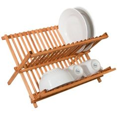 Shop for Sweet Home Collection All Natural Foldable Bamboo Dish Rack/Drainer. Free Shipping on orders over $45 at Overstock.com - Your Online Kitchen & Dining Store! Get 5% in rewards with Club O! - 17505230