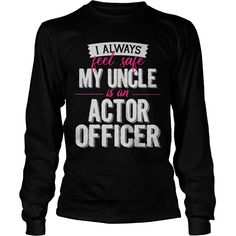 Best Family Jobs Gifts, Funny Works Gifts Ideas I Away Feel SafeMy Uncle Is ACTOR Officer #gift #ideas #Popular #Everything #Videos #Shop #Animals #pets #Architecture #Art #Cars #motorcycles #Celebrities #DIY #crafts #Design #Education #Entertainment #Food #drink #Gardening #Geek #Hair #beauty #Health #fitness #History #Holidays #events #Home decor #Humor #Illustrations #posters #Kids #parenting #Men #Outdoors #Photography #Products #Quotes #Science #nature #Sports #Tattoos #Technology…