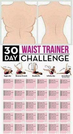 Waist Trainer Challenge Workout! #FitnessWorkouts