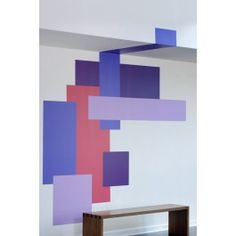 Blik Wall Decal - Color Block Parallel #blikwalldecals