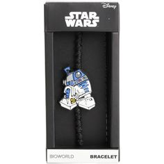 Disney Star Wars R2-D2 Cord Bracelet (6.38 AUD) ❤ liked on Polyvore featuring jewelry, bracelets, multi, charm bangles, disney, disney jewellery, disney jewelry and disney charms