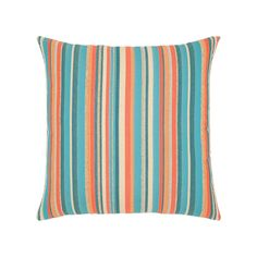 "Grand Turk Stripe Outdoor Pillow (20"" X 20"") | BOXHILL"