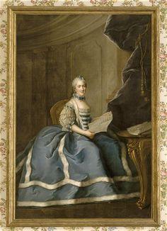 Madame Sophie de France (1734-1782), eighth legitimate child of Louis XV, 1763 by Drouais