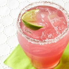 Cranberry Margarita: Stir up a pitcher of these rosy margaritas for your next holiday bash. More party ideas: http://www.midwestliving.com/food/entertaining/celebrate-with-28-holiday-party-recipes/page/26/0