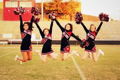 Best cheer picture ever. I love my girls! <3