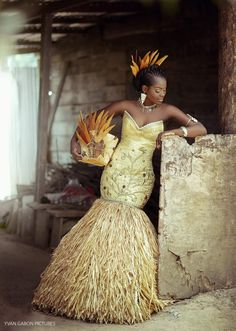 African Traditional Wedding, African Wear, African Fabric, My Best Friend, Afro, Culture, Chic, Wedding Dresses, Party