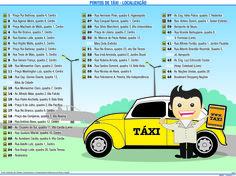 JuRehder - Infográfico sobre taxi em Bauru, para o JC - Bauru/SP
