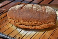 El rincón de Ginger: Pan integral de trigo y espelta