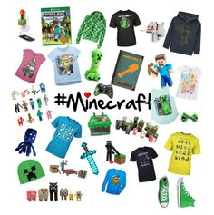 """#Minecraft"" by shelbsinstyle ❤ liked on Polyvore featuring George and Converse"