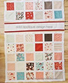 Toddler quilt tutorial