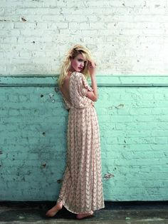 Embellished chevron striped Dorothy Perkins maxi