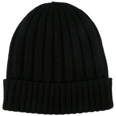 Dolce & Gabbana ribbed knit beanie hat ($290) ❤ liked on Polyvore featuring accessories, hats, accessories/jewelry, hatut, black, black brim hat, brimmed beanie, black hat, ribbed knit hat and rib knit beanie