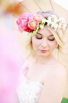 Rustic Bohemian Wedding Inspiration: http://www.stylemepretty.com/little-black-book-blog/2014/08/25/rustic-bohemian-wedding-inspiration/   Photography: Kay English - http://www.kayenglishphotography.com/