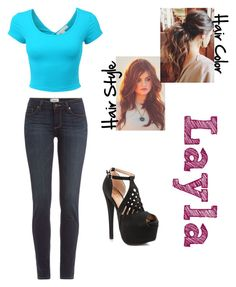 """Outfit 2- First Fight"" by thepinkpowerranger ❤ liked on Polyvore featuring moda, Paige Denim e Shoe Republic LA"