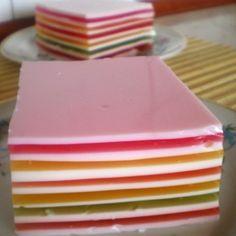 Pasiak mleczno-galaretkowy - DoradcaSmaku.pl No Bake Desserts, Dessert Recipes, Truffles, Cheesecake, Plates, Baking, Breakfast, Tableware, Easy