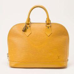 Louis Vuitton Alma In Epi Yellow B #Louis #Vuitton #Alma