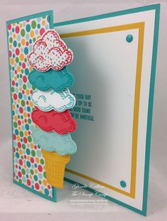 Sprinkles of Life, Tree Builder punch, Cherry on Top DSP Stack, Brights Candy Dots (Side view)