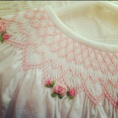 Image result for Smocking patters for baby dresses