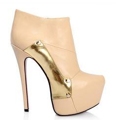 Ankle boot couro legítimo importada.