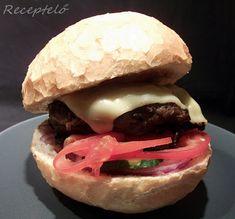 Receptelő: Az igazi hamburger hús....