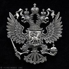 I lov this One!!!....Romanov Family Crest!!!!