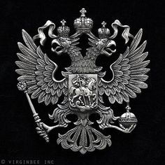 I lov this One!!!....Romanov Family Crest!!!!