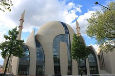 Cologne Central Mosque (Germany).