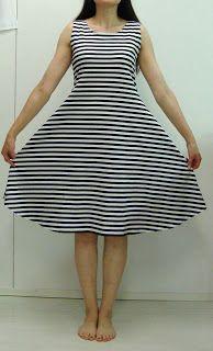 kujedesign: kesäkuu 2012 Sewing Clothes, Diy Clothes, Decoden, Handicraft, Kurti, Diy And Crafts, Polka Dots, Stripes, Stitch