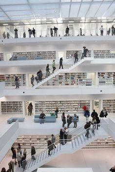 Biblioteca de Stuttgart.