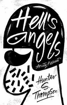 Pawel Jonca. Illustration artist. - Hell's Angels - Polish cover