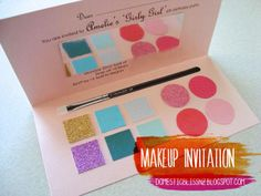 What little girl would not LOVE this invite?